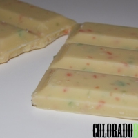 "Edible Review: ""Firecracker White Chocolate Bar"" by ""Incredibles Edibles"""