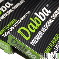 "Edible Review: ""Premium Indica Mint Chocolate Bar"" from ""Dabba Chocolate"""