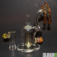 Beer Glass, 14mm Honey Drip Dab Rig