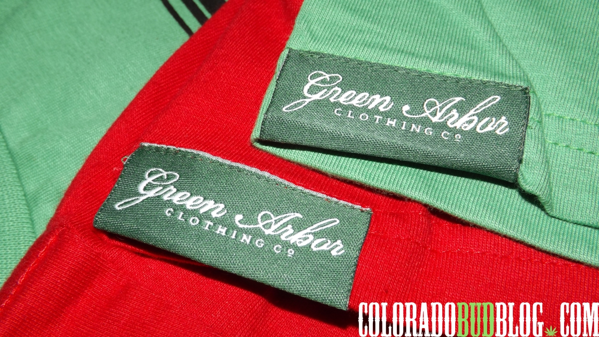 "Product Review: Sour Diesel and Colombian Gold ""Vintage Cannabis T-Shirts"" from ""Green Arbor Clothing Co."""